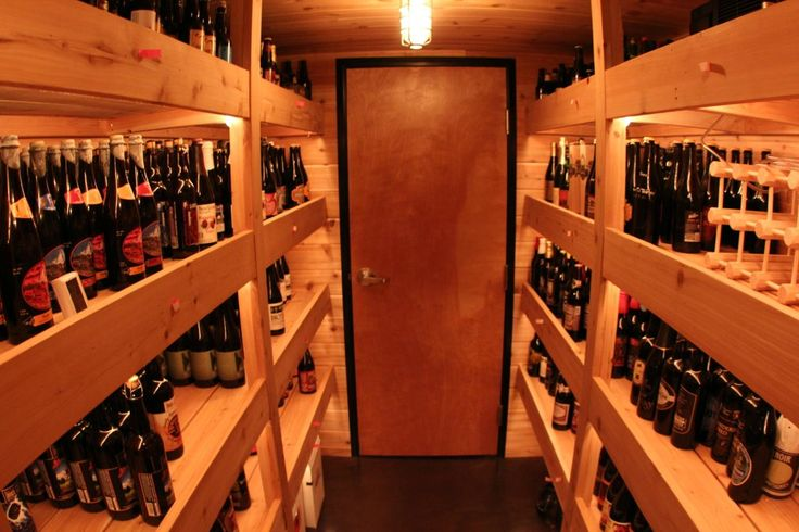 Beer Cellar -- I want this in my house!!! filled please!