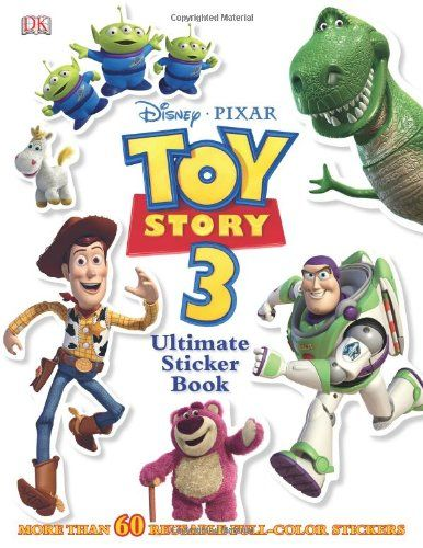 Toy Story 3 Ultimate Sticker Book (Ultimate Sticker Books) @ niftywarehouse.com #NiftyWarehouse #Toy #Story #Movie #ToyStory #Pixar