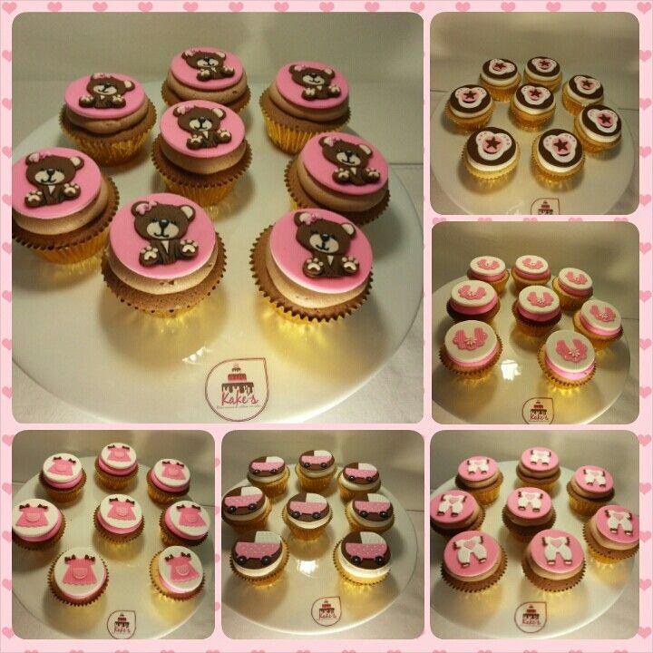 Baby Shower cupcakes de Kake's