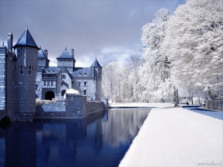 Mentes Imundas e Belas: Fotografia infravermelha de Inverno