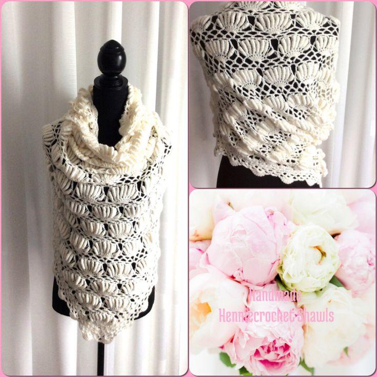 Een persoonlijke favoriet uit mijn Etsy shop https://www.etsy.com/nl/listing/470737842/witte-bruids-ivoorgehaakte-sjaal