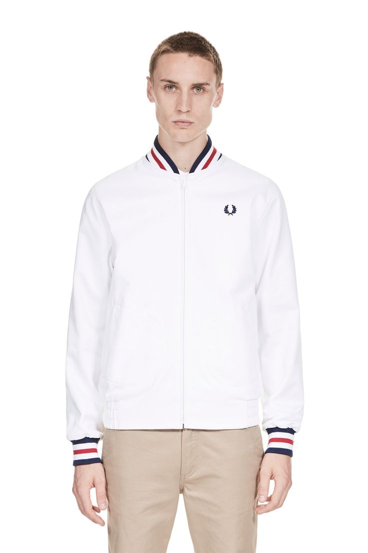 Fred Perry - Reissues Made in England Original Tennis Bomber White