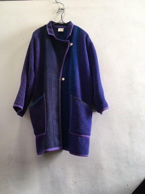 1980's Vintage Finnish Dolman Coat(1980年代頃フィンランド製ドルマンコート) | 東京駅、銀座、京橋エリアのセレクトショップ|BROWN&SEEDLING