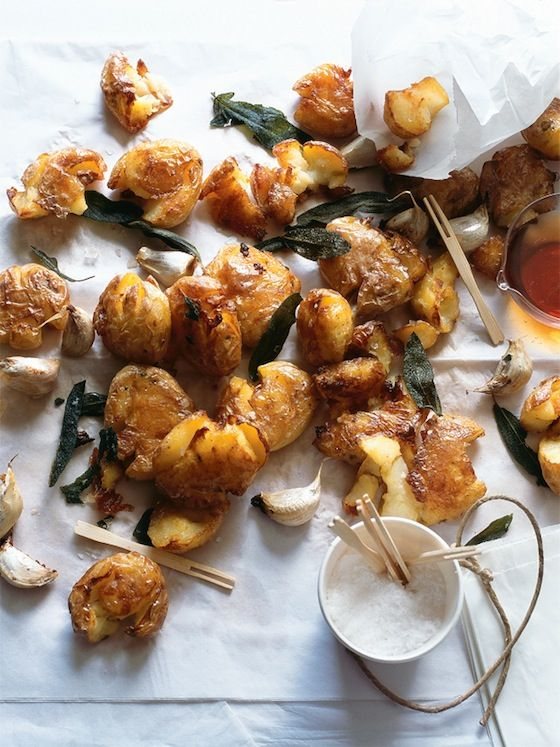 Christmas in #htfstyle Crisp, crunchy potatoes