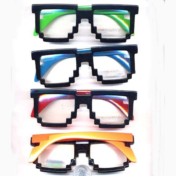 Pixel Clear Lens Glasses