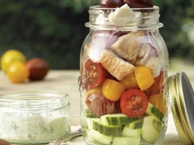 Salat im Glas: 3 leckere Rezepte