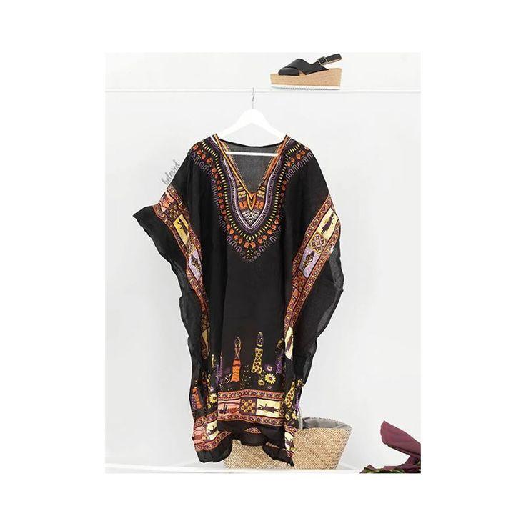 Egyptian Black Kaftan