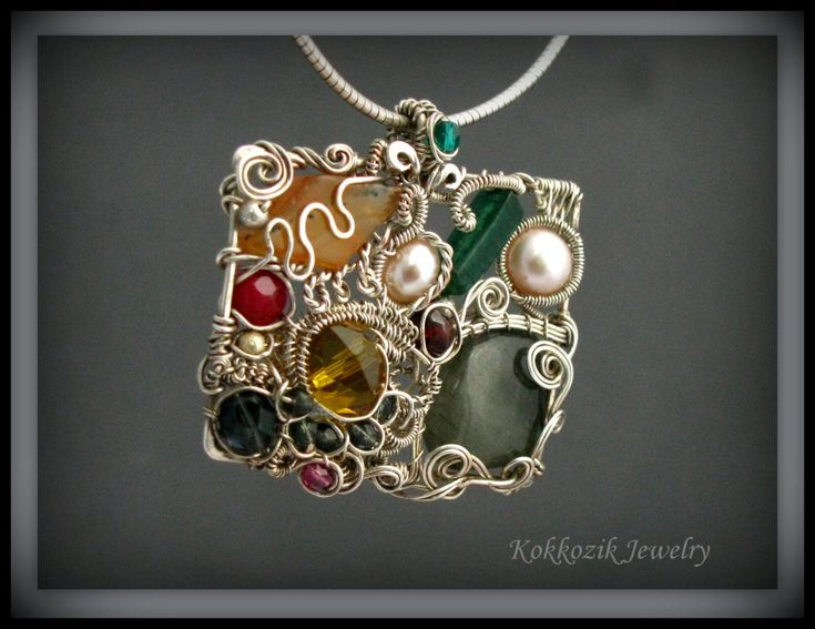 What! I love thissssssssss wire jewelry