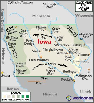 Best StatesIowa Images On Pinterest States Iowa State - Where is iowa state on the us map