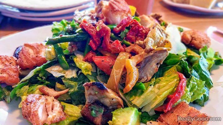 Reallygood Com Roasted Veggie Salad Veggie Salad California Pizza Kitchen