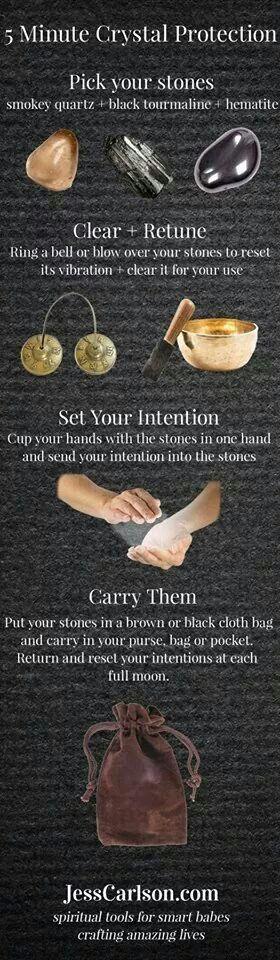 5 min crystal protection