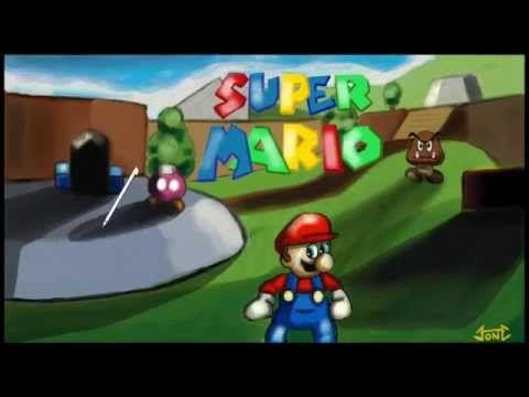 Art Academy: Atelier - Super Mario 64 - Oil - YouTube