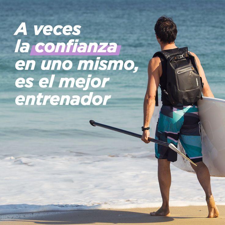 Confía en ti, no dudes, lo conseguirás. #paddlesurf #surf #decathlon #deporte