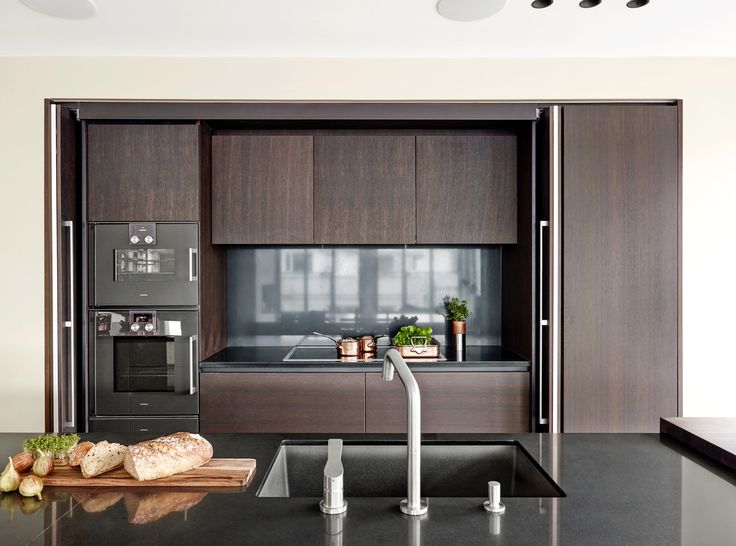 Scandinavian kitchen design. Cabrio Systems by Hawa.