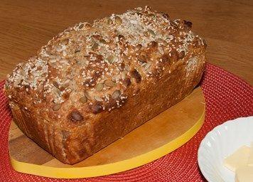 Sumptuously seeded Soda Bread