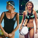 Proof That When It Comes to Modeling a Swimsuit Gigi Hadid Got It From Her Mama