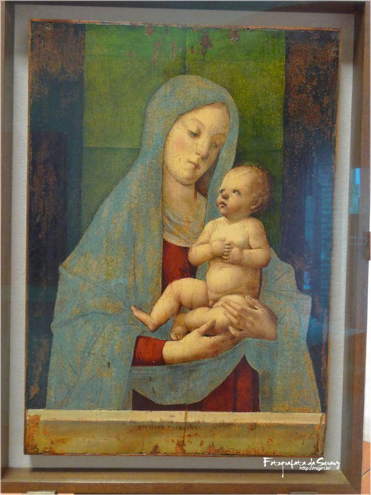 Alvise Vivarini:  Virgin and Child