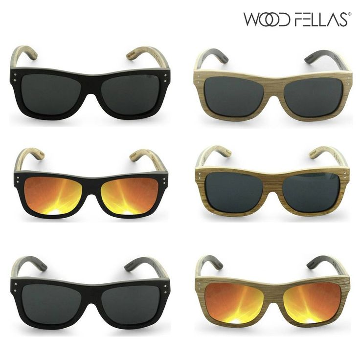 Unisex Wood Fellas Sonnenbrille aus Holz - von lesara.de