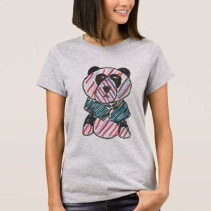 original art of an LGBT PANDA T-Shirt - original gifts diy cyo customize