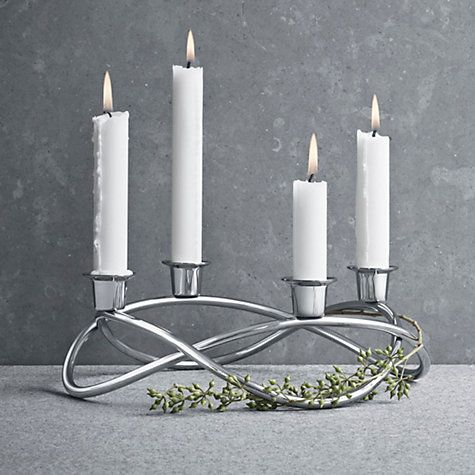 Georg Jensen Season Candleholder -  I really want to turn with into a Christmas wreath