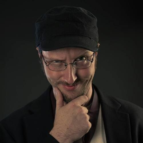 Nostalgia Critic  <<<  Has anyone ever noticed that Doug Walker looks a tad like James McAvoy?