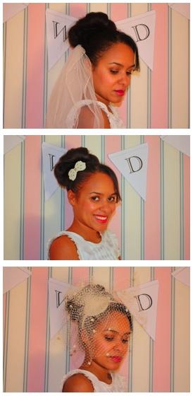 My sister´s wonderful bridal updo !