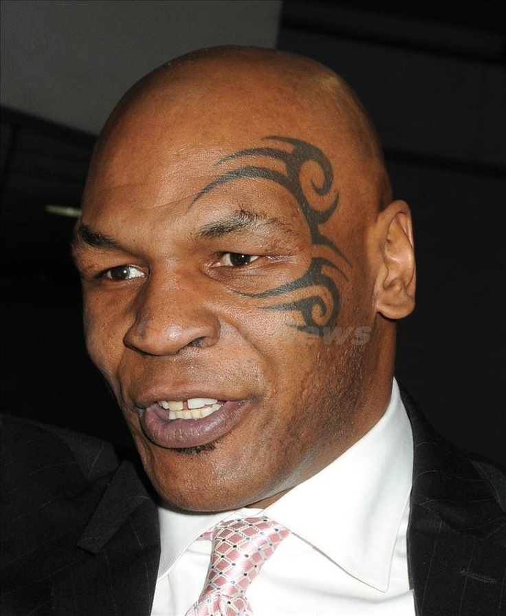 Tyson Face Tatoo: The Famous Face Tattoo, Mike Tyson. The Older Guys Always