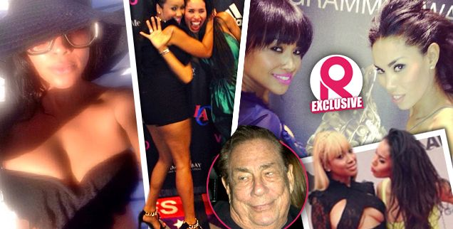 Donald Sterling's New Girlfriend Revealed: It's V. Stiviano's Former 'BFF For Life' Raquel Lee — PLUS, Her Link To Rob Kardashian