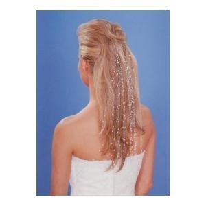 Haaraccessoire bruidskapsel -  Een exclusieve haaraccessoire die uw haar siert, en een perfecte finishing touch zal zijn voor bij uw trouw outfit! www.shopwiki.nl #trouwen #bruidskapsel #trouwkapsel #haaraccesoire