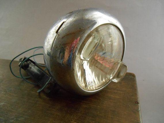 Antique Bosch Germany Dynamo Bicycle Lamp Vintage by TasteVintage