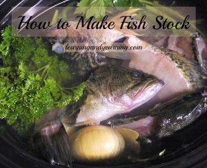 How to make iodine rich fish stock @learningandyearning.com