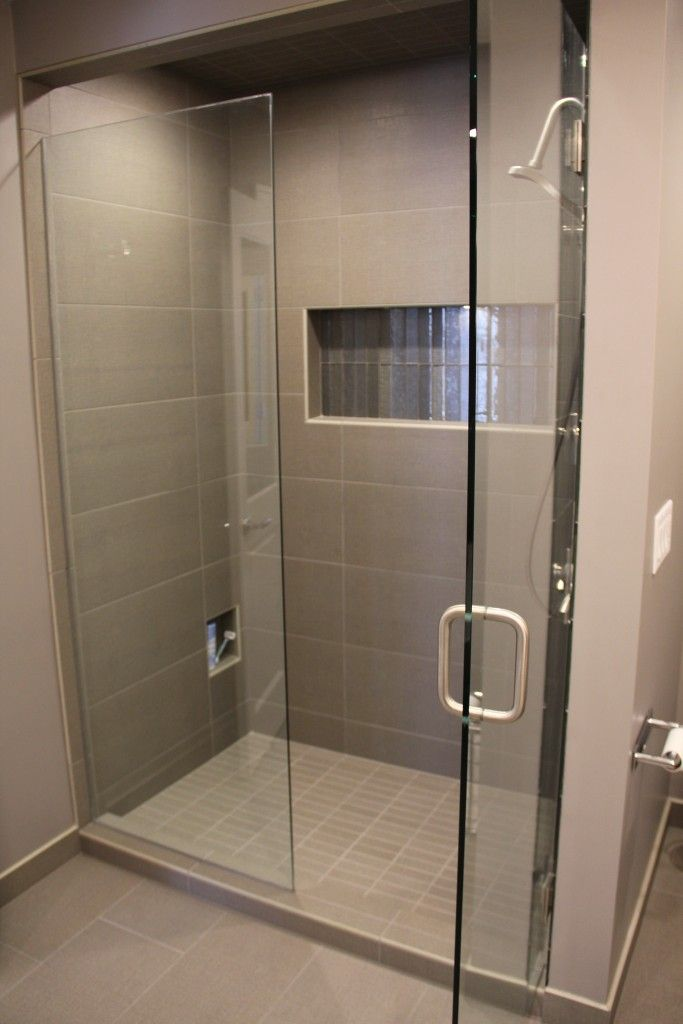 Bathroom Tile: Tile: Ready To Wear 12x24 And 2x6 Flannel Suit; Accent