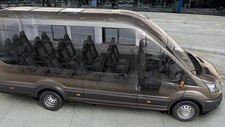 passenger vans custom made | 2015 Ford Transit 15 Passenger Van