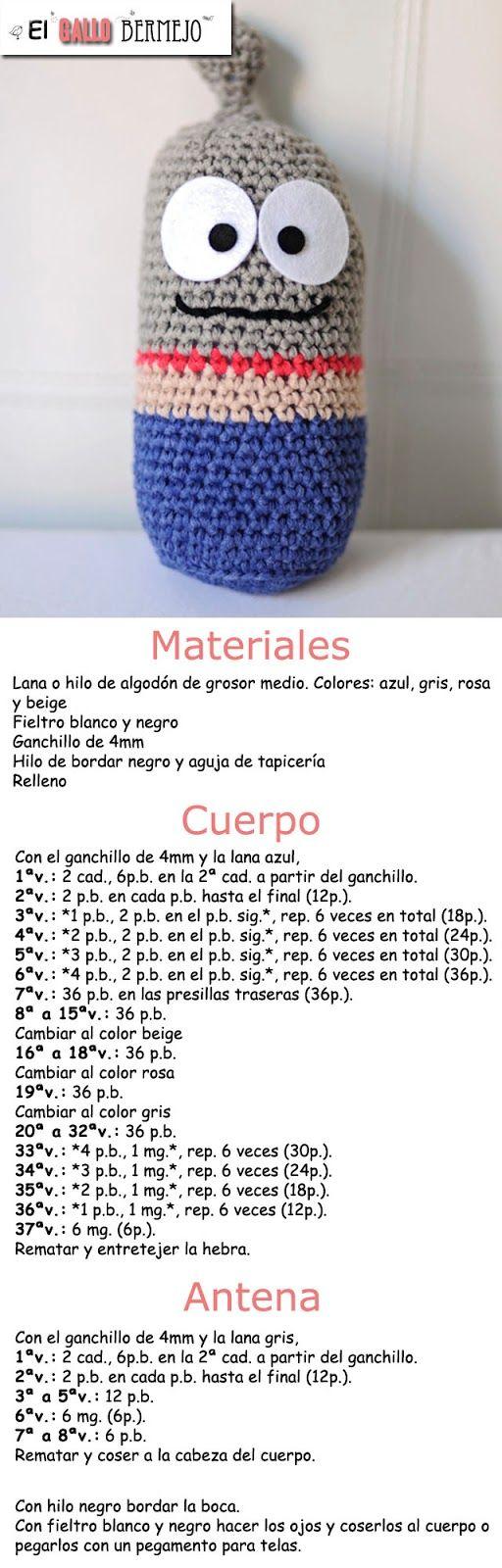 89 best Amigurumi patterns (by me) images on Pinterest | Crochet ...