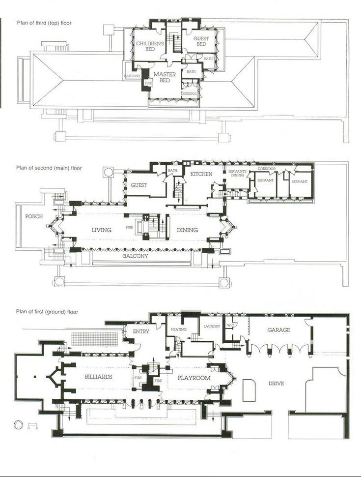 318 best Plans architecturaux images on Pinterest Floor plans - plan cuisine restaurant normes