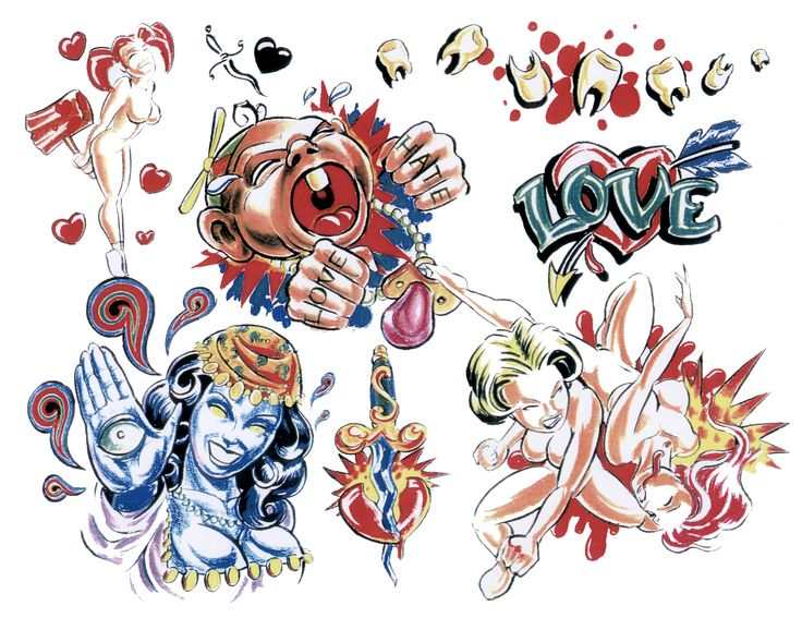 Tattoo Flash Designs #tattoos #tattooflash