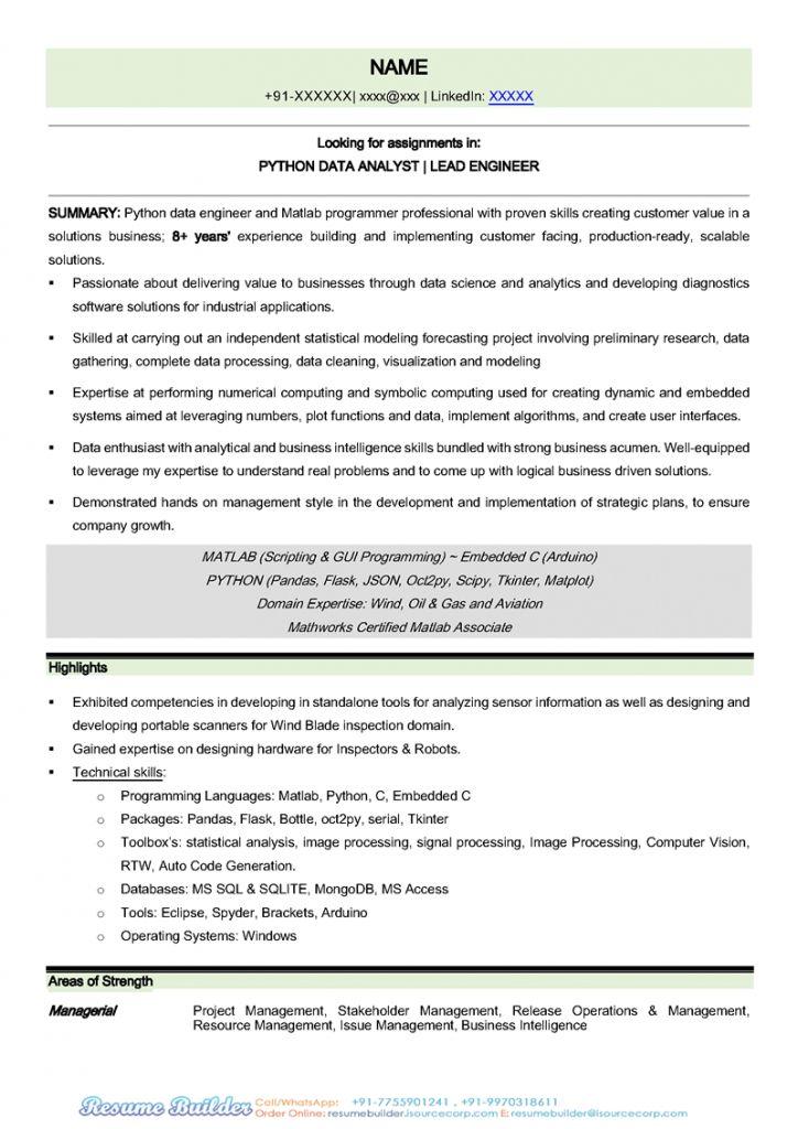 Resume Templates Jamaica 2021 Resume Templates Data Science Resume