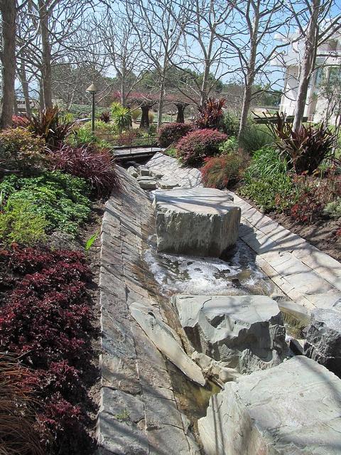 Central Landscape And Garden Drury : Getty center central garden design robert irwin landscape