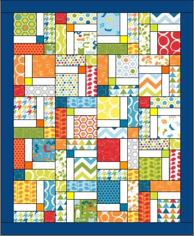 DNP sashed quilt