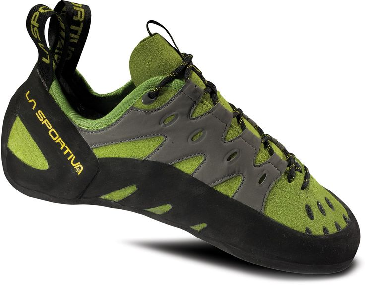 La Sportiva Tarantulace Rock Shoes - My second favorite pair of climbing shoes. These fit like a glove and the toe tips grip small holds well, not quite as spot on as my Katanas but still really good at a more affordable price.