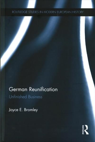 German Reunification: Unfinished Business