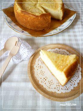 あっさり♡リコッタチーズケーキ