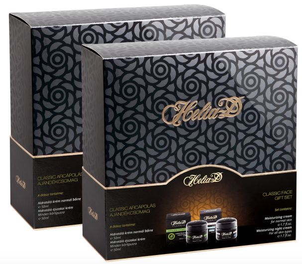 2 Helia-D Classic Gift Packs (4 jars) for only $55..!