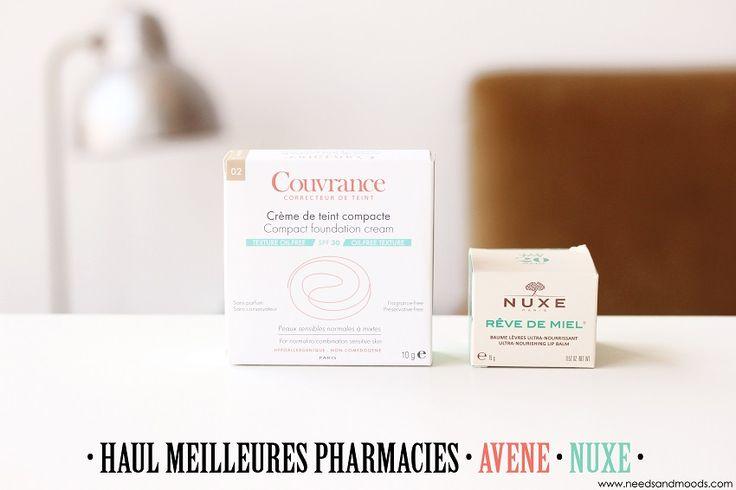 """Sur mon blog beauté """"Needs and Moods"""", retrouvez un mini Haul spécial produits de parapharmacie : crème de teint compacte Couvrance d'Avène et baume à lèvres Rêve de miel de Nuxe.  http://www.needsandmoods.com/meilleures-pharmacies/  #Haul #beauté #beauty #parapharmacie #meilleurespharmacies #blog #blogueuse #blogbeauté #blogbeaute #skincare #nuxe #rêve #revedemiel #miel #couvrance #avene"""