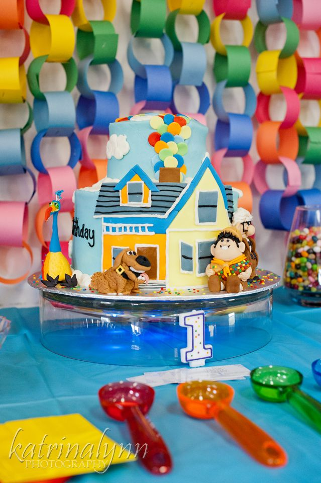 Disney Pixar Up Rainbow 1st Birthday Party Www