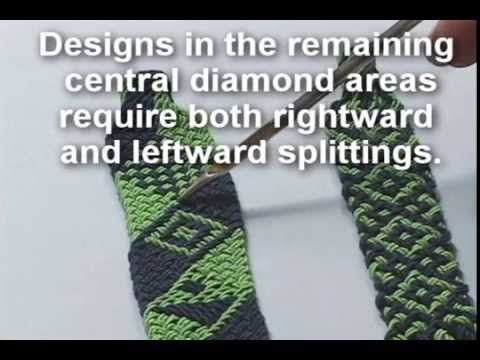 ▶ Ply-Split Braiding: Using a Double-Pointed Gripfid to make Leftward Splittings - YouTube