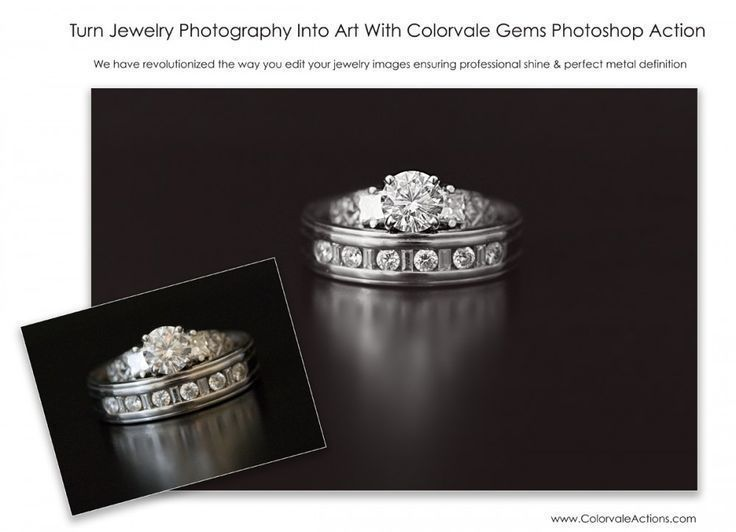 Make Jewelry Sparkle - Photoshop Actions #photography #photoshop #elements #actions