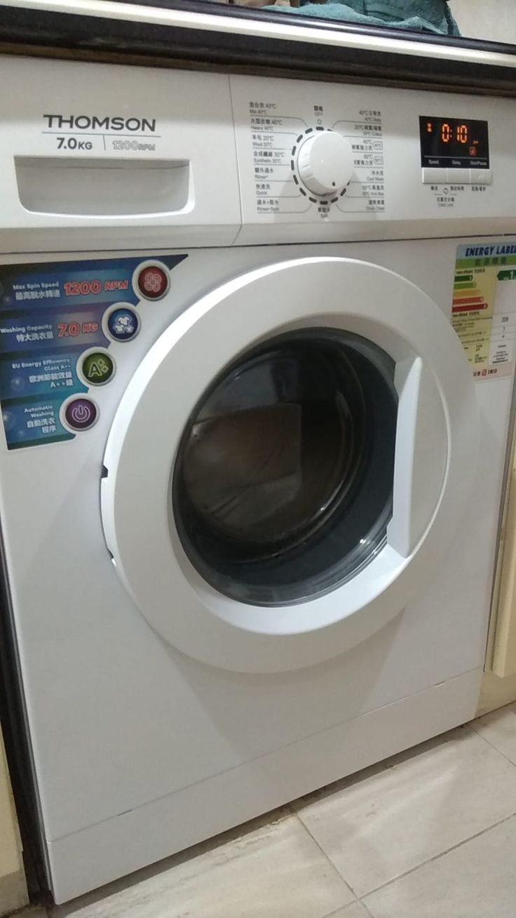 感謝客戶對我們的信任。選購法國Thomson滾筒洗衣機。☺️ *洗衣機清洗服務 *洗衣機維修服務 *洗衣機零售服務 ...