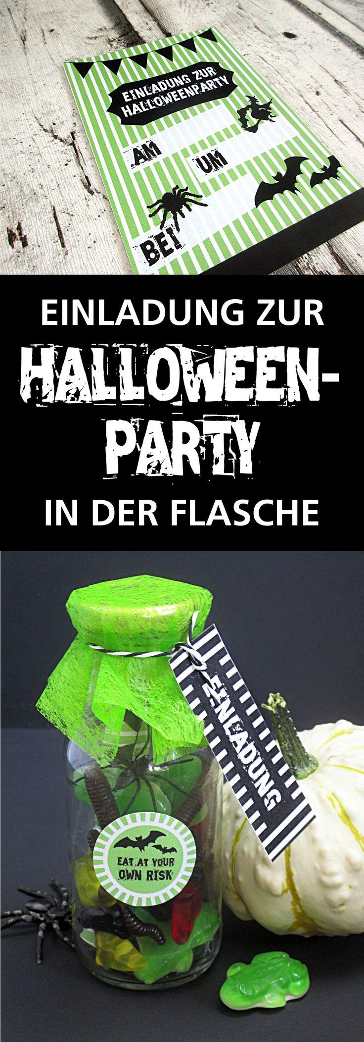 1000 ideen zu halloween party einladungen auf pinterest - Halloween fensterdeko ...