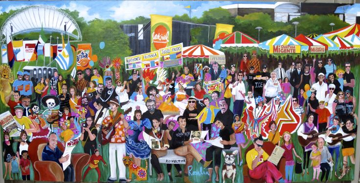 Annual Latin Festival : Art by Rosalia